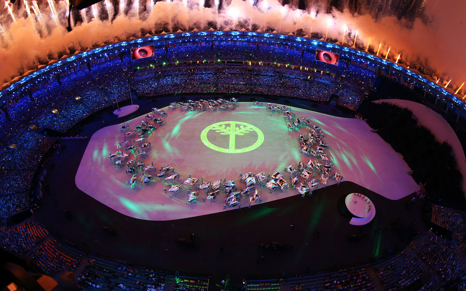 Highlights from the Olympics Opening Ceremony in Rio de Janeiro