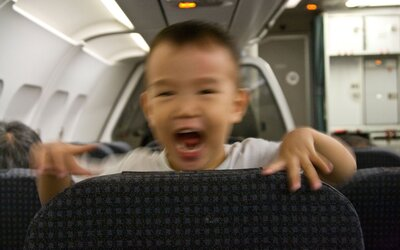 How to Quiet a Child on a Plane | Travel + Leisure