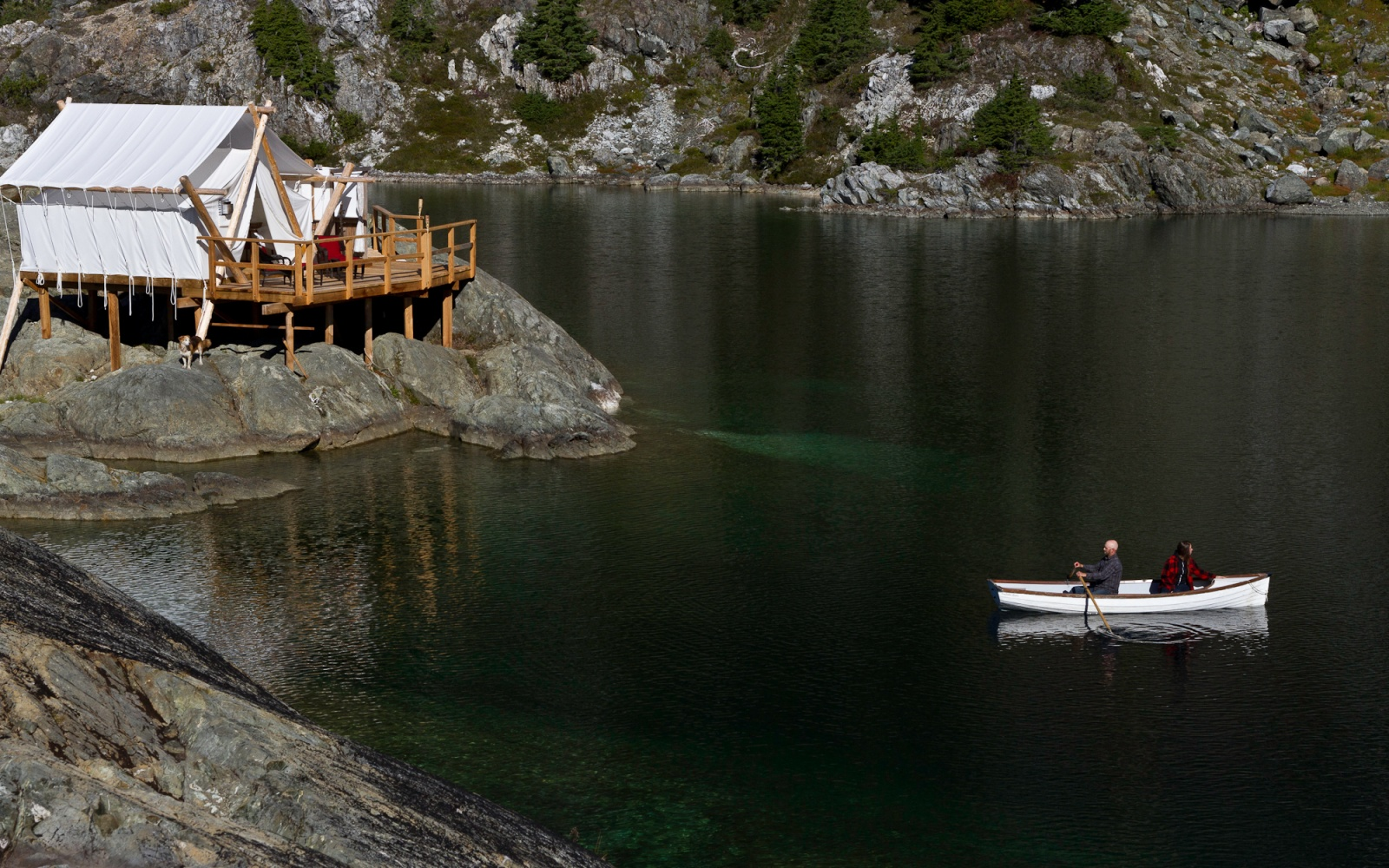 Cloud Camp at Clayoquot Wilderness Resort in Canada