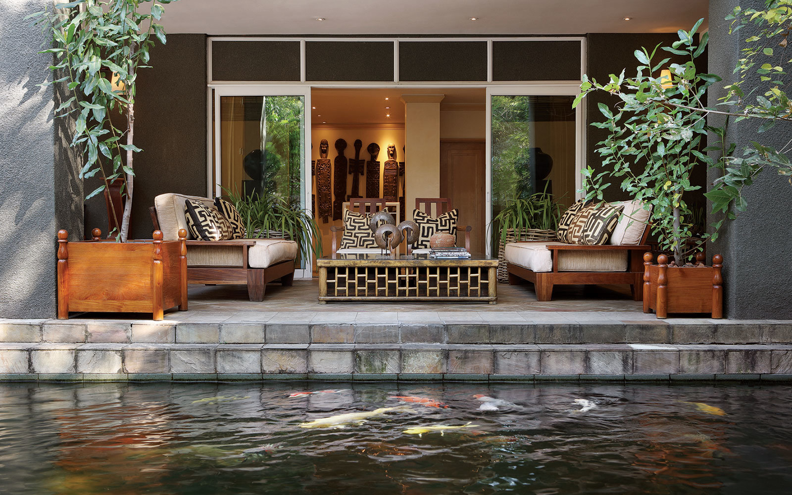 No. 1: Saxon Hotel,  Villas and Spa,  Johannesburg,  South Africa