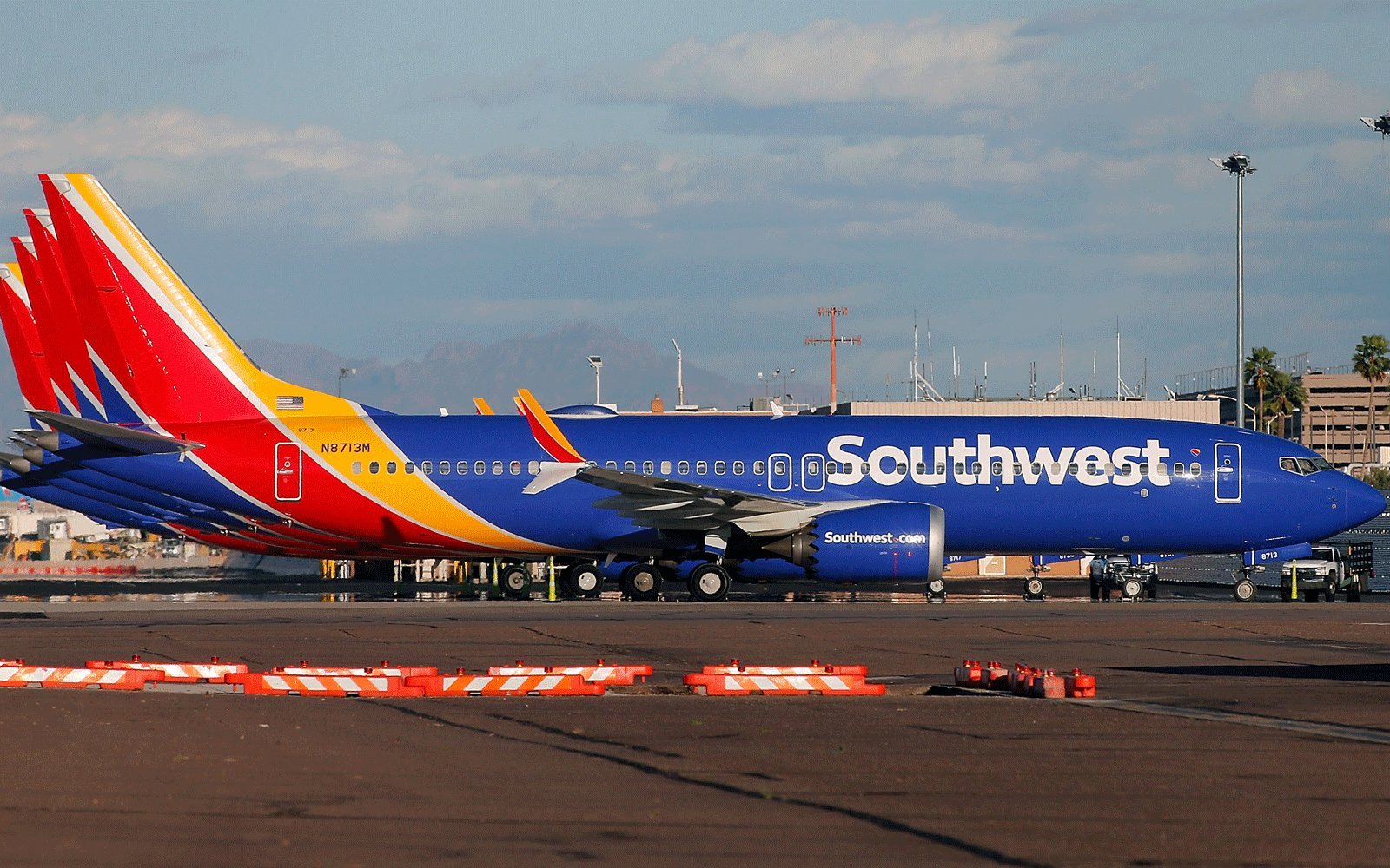 Southwest Airlines removes the 737 Max from its schedule until early June