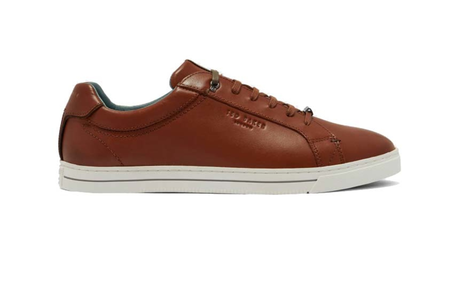 Ted Baker 'Thawne' Burnished Leather Sneakers