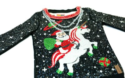 04e8692569 The Most Expensive Ugly Christmas Sweater Costs $30,000 and Has ...