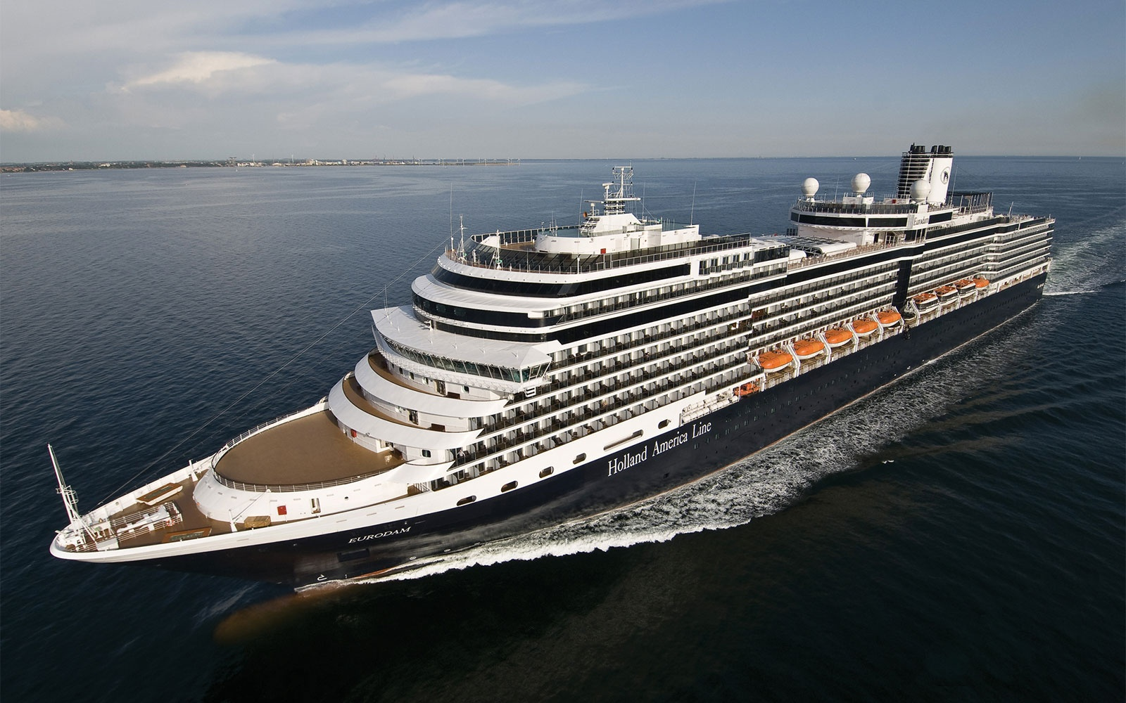 No. 14 Large-Ship Ocean Cruise Line: Holland America Line