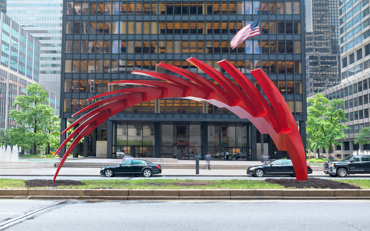 Calatrava Sculpture Park Avenue