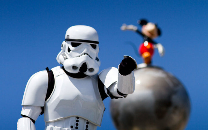 Star Wars Attractions