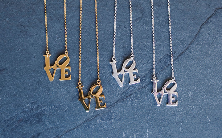 We Heart Philly Love necklace