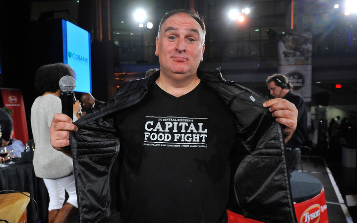 WASHINGTON, DC - NOVEMBER 12: Chef Jose Andres attends DC Central Kitchen's Capital Food Fight at the Ronald Reagan Building on November 12, 2015 in Washington, DC.  (Photo by Larry French/Getty Images for DC Central Kitchen's Capital Food Fight)