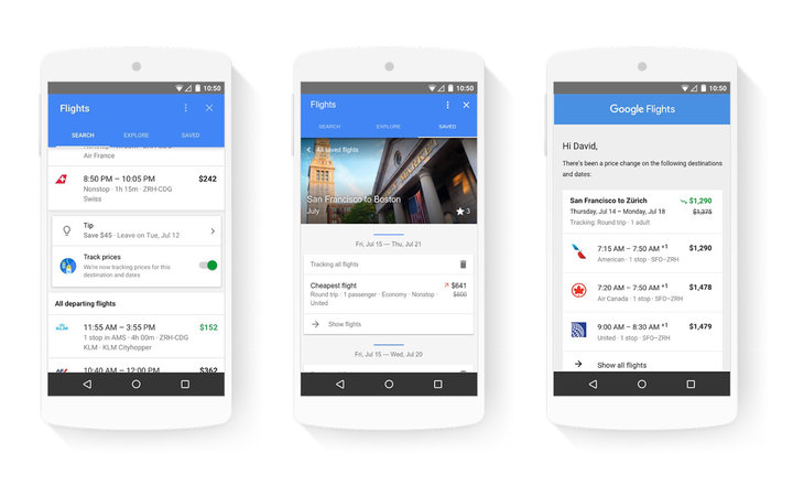 Google's New Travel Features for Phones