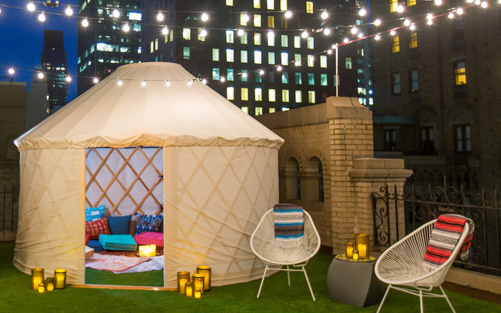 Glamping Tent New York City