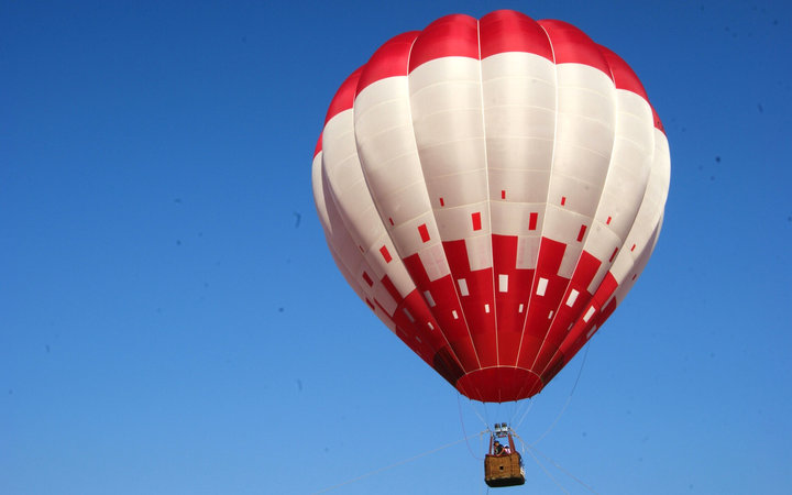 Russian Man Hot Air Balloon Record