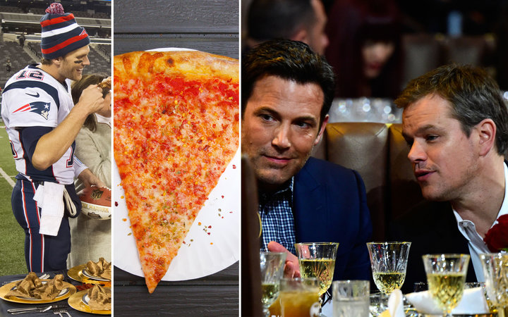 Heres Your Chance to Have Pizza and Beer with Matt Damon Ben Affleck and Tom Brady
