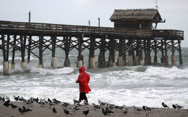 Coastal States Prepare for Hurricane Matthew to Make Landfall