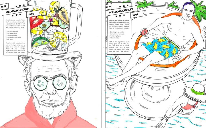 W Hotels Offer Adult Presidential Coloring Book