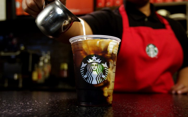 Starbucks Releases First Iced Holiday Drink