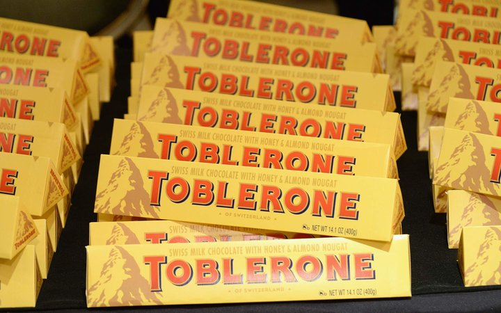 Toblerone is Changing its Shape