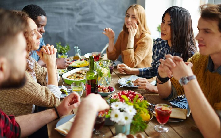 The 19 People Who Show Up to Friendsgiving