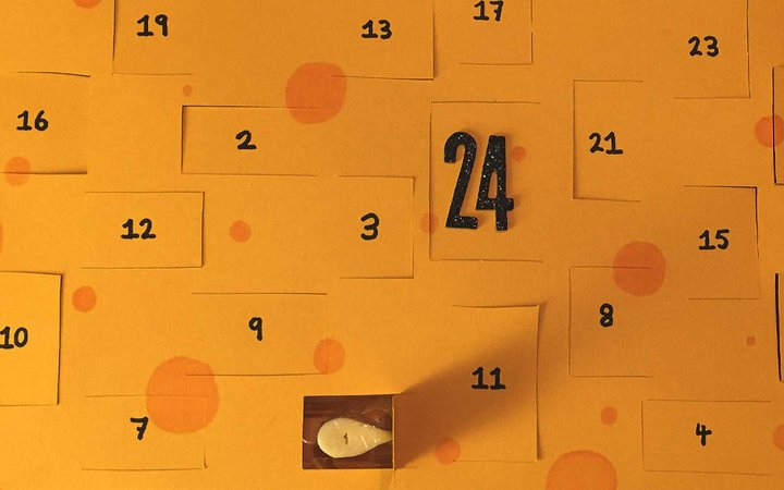 Advent Calendar For Cheese Lovers