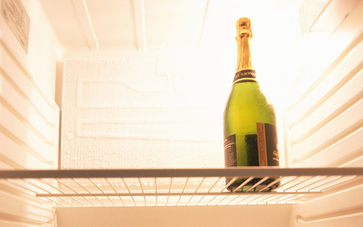 Your Fridge May Have a Built-In Wine Dispenser