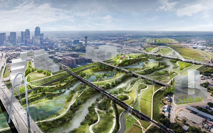 Dallas is getting a $600 million urban park that's 11 times the size of Central Park