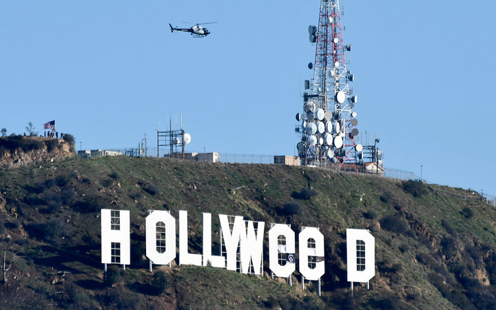 Hollyweed Sign 2017