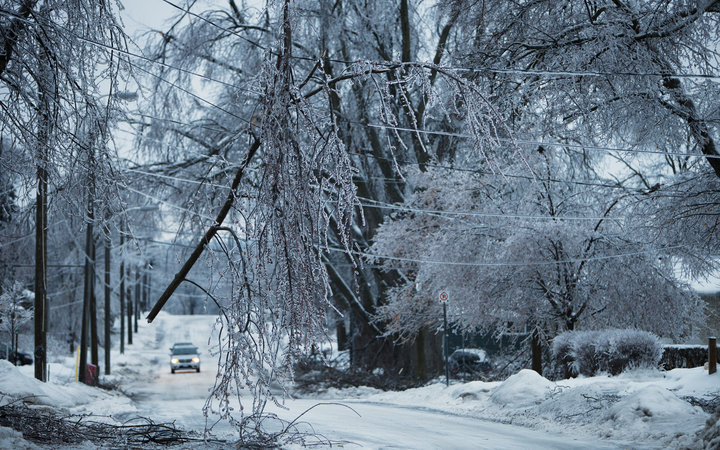Dangerous Ice Storm Approaches Midwest