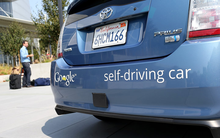 Google Self Driving Taxis