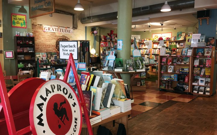 Malaprop's Bookstore & Cafe, Asheville, North Carolina