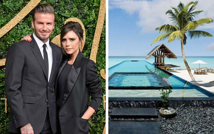 The Beckhams' Maldives Vacation Retreat Is the Stuff of Dreams