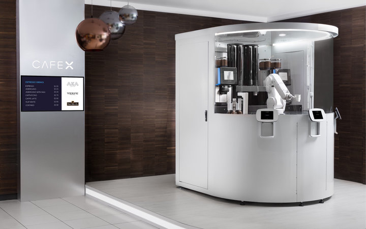 A Robot Cafe Just Opened in SF