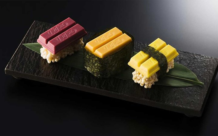 Kit Kat Sushi Is the Latest Hybrid Food You Never Knew You Wanted