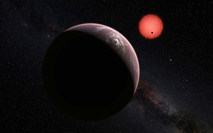 NASA Announces a Single Star Is Home to At Least 7 Earthlike Planets