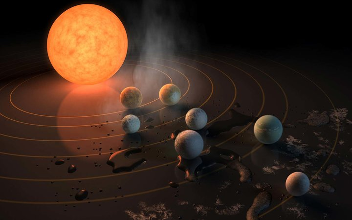 People Have Some Pretty Amazing Names for These Seven Earth-Sized Planets