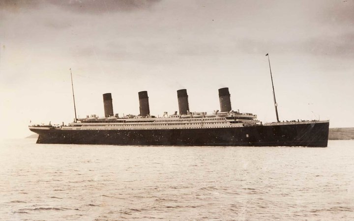 Titanic Disappearing