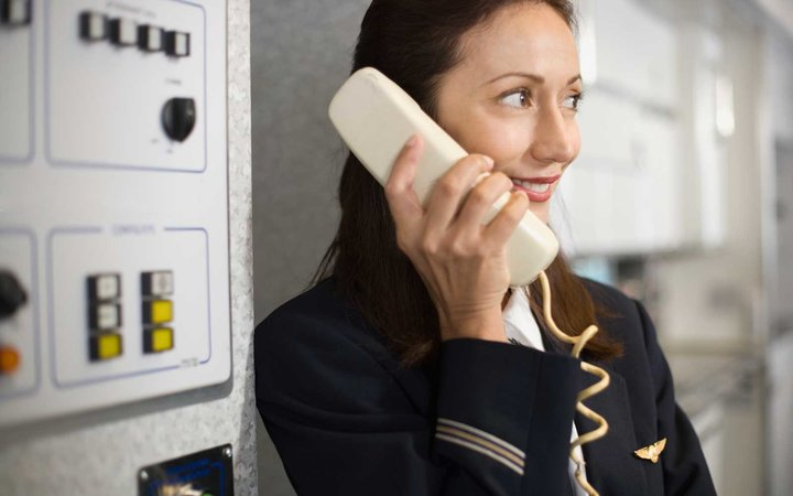 Flight Attendants Speak in Code