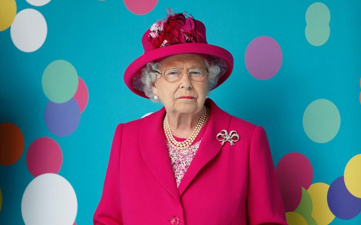 Buckingham Palace Shares Queen Elizabeth's Christening Photo in Honor of Her 91st Birthday