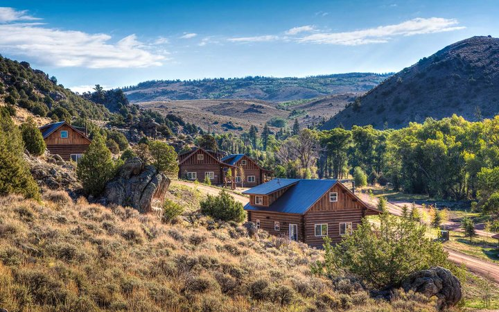 The Lodge and Spa at Brush Creek Ranch Resort Hotel in the West