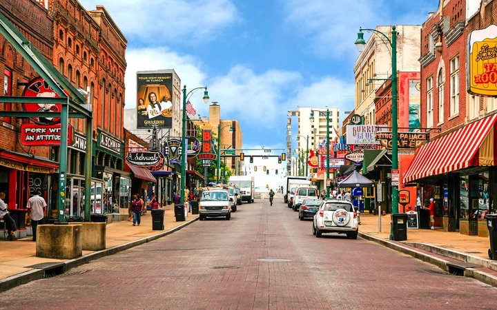 Beale Street, Memphis, Tennessee