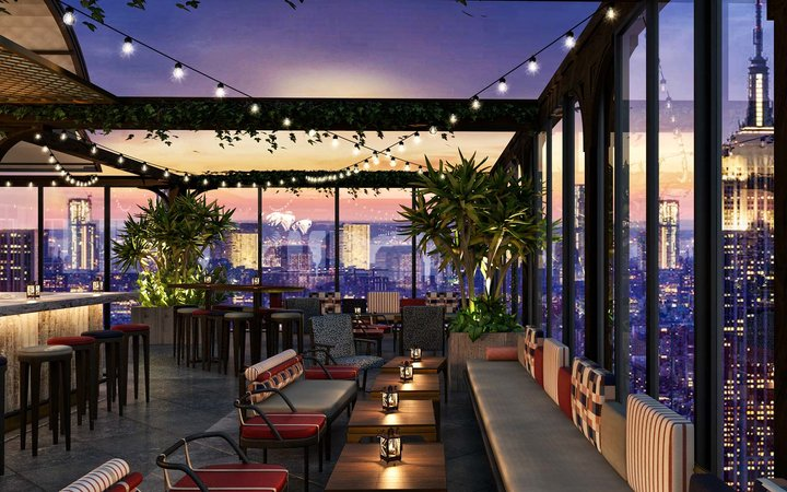 Rooftop at the Moxy Hotel