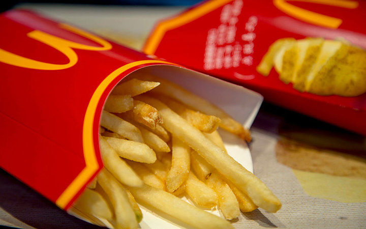BEIJING, CHINA - 2016/09/27: Fried chips of McDonald's. (Photo by Zhang Peng/LightRocket via Getty Images)