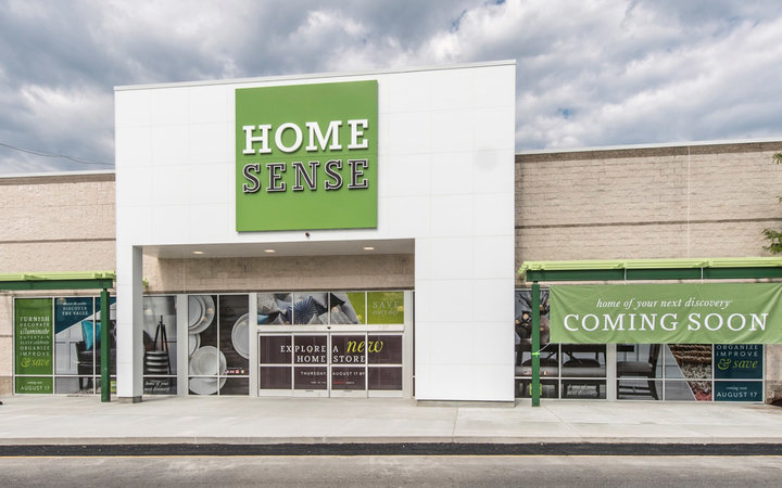 Client: TJX (508) 390-3886 770 Cochituate Rd. Framingham, MA 01701 Project: Home Sense & Sierra Trading Post new store fronts - Framingham, MA For more information Contact Gregg Shupe 508-877-7700 www.Shupestudios.com