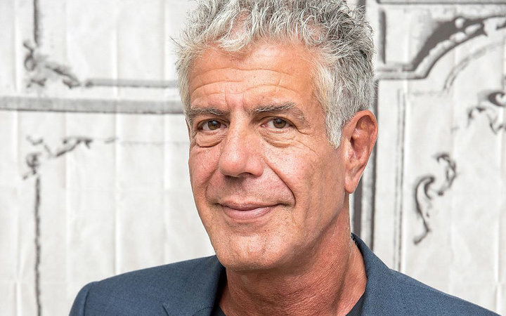 NEW YORK, NY - NOVEMBER 02:  Anthony Bourdain visits the Build Series to discuss  Raw Craft  at AOL HQ on November 2, 2016 in New York City.  (Photo by Mike Pont/WireImage)