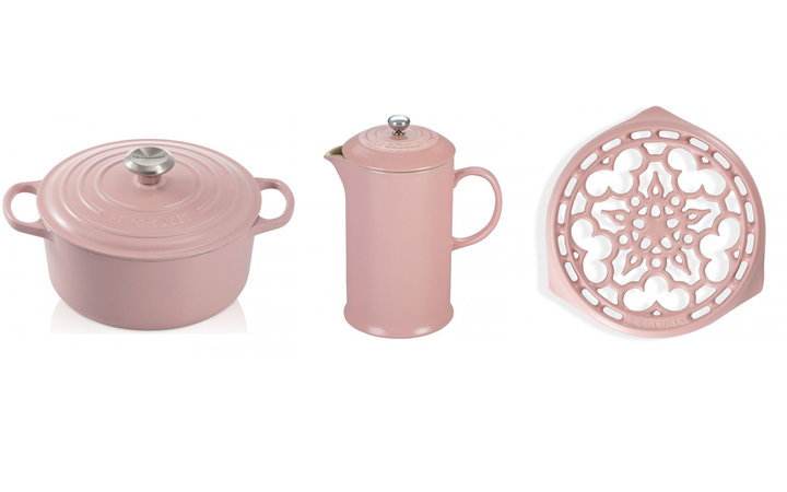 Le Creuset's Blush Pink Cookware