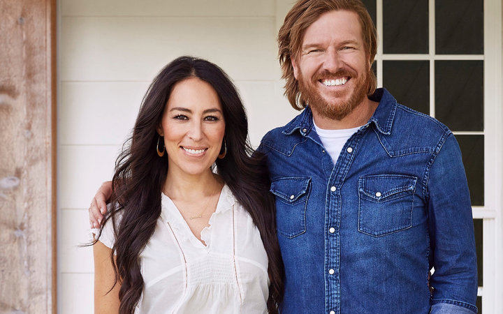 Chip and Joanna Gaines portrait