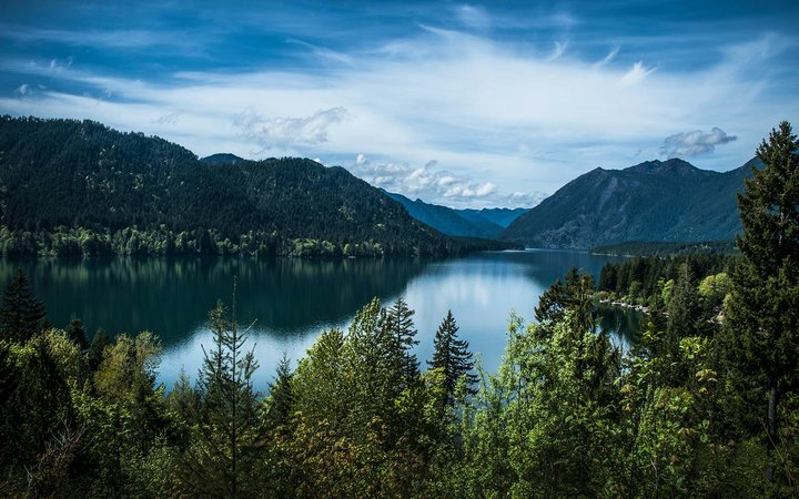 lake cushman washington