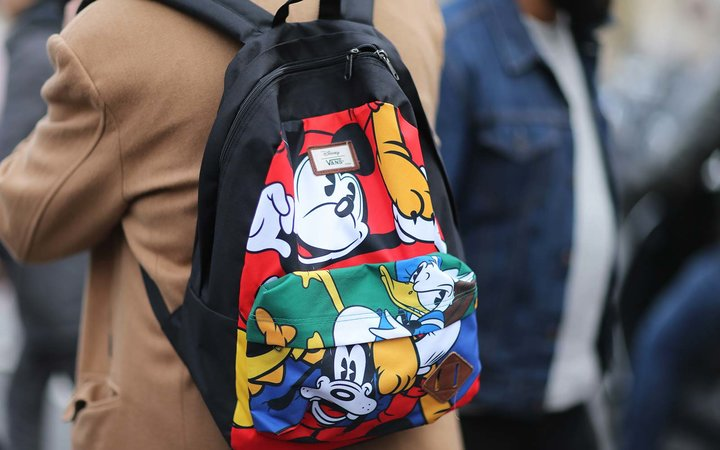 disney character mickey mouse luggage backpack bag suitcase