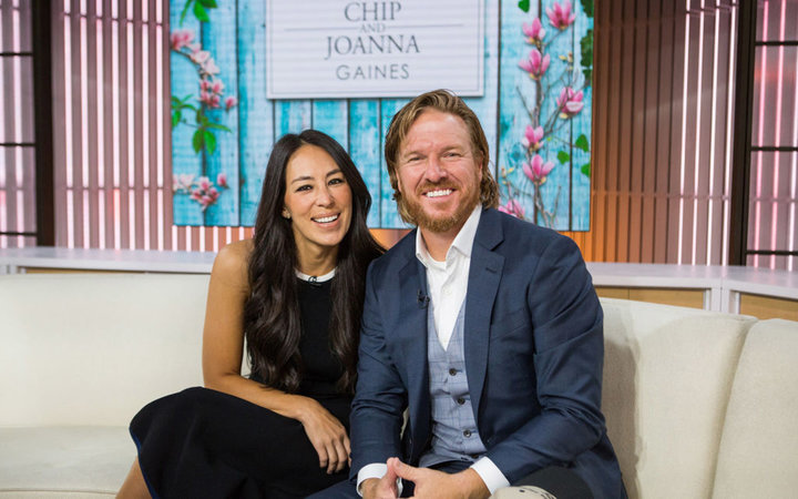 Chip and Joanna Gaines  on Tuesday, October 17, 2017