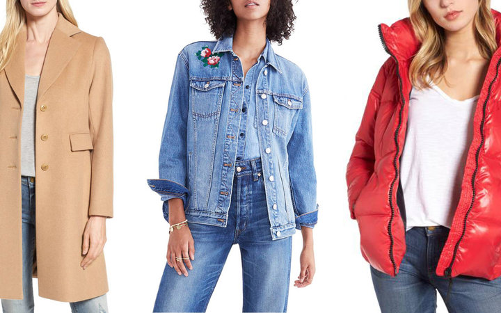 Jackets for sale at Nordstrom