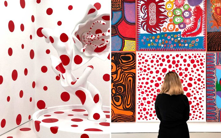 Yayoi Kusama, Festival of Life Exhibit, New York