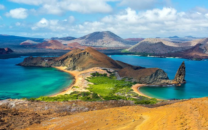 Galapagos National Park Islands Wildlife UNESCO Ecuador Bartolome
